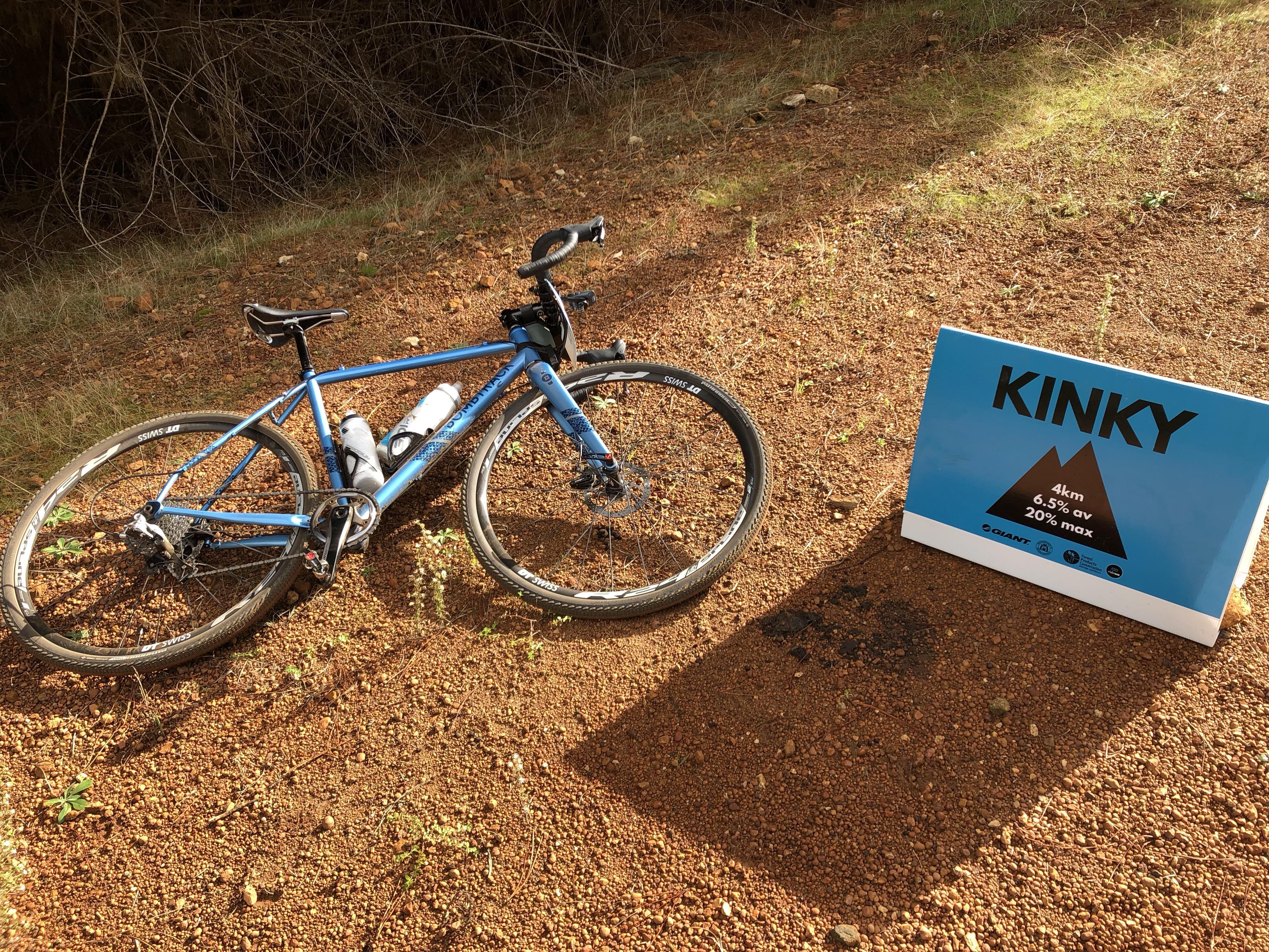 Kinky Climb Riding at Seven